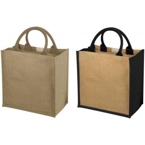 Сумки для покупок - Сумка для покупок, джут, 30 x 19 x 30 cm (12013401FM)