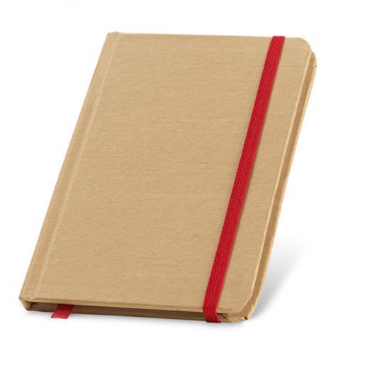 Блокноты - Блокнот на цветной резинке (93709FM)