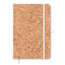 Блокноты - Блокнот на резинке А5, корк (06MO962306)