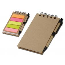 Офисные принадлежности - Блокнот со стикерами и ручкой (53369-60FM)