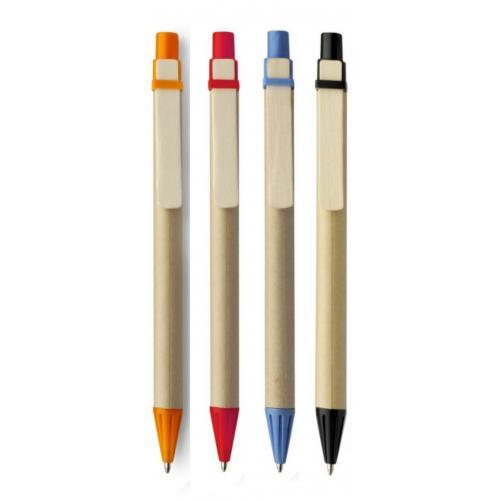 Эко ручки - Экоручка из пластика и картона (01952019)