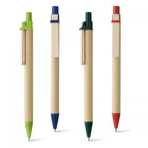 Ручки - Одноразовая экоручка из пластика и картона (0091292)