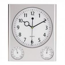 Другое - Часы прямоугольные с термометром и гигрометром (0190401517)