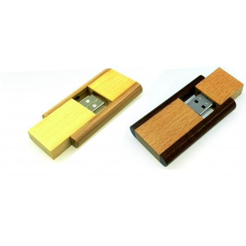 Флешки - Флеш-память 4-64 Гб, дерево (S0212)