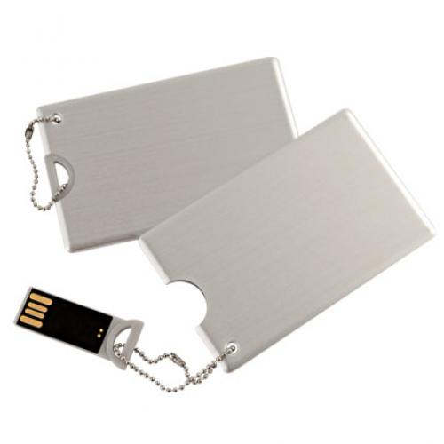 Флешки - Флешка 4-64 Гб, кредитная карта, металл (S1029)