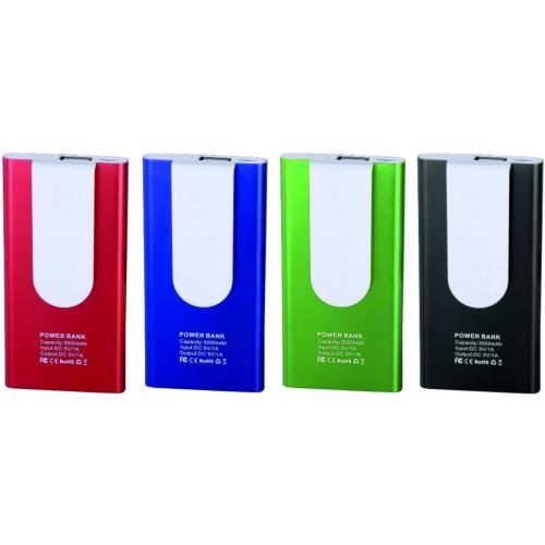 Павербанки - Зарядное устройство Power Bank 3000 (023009)