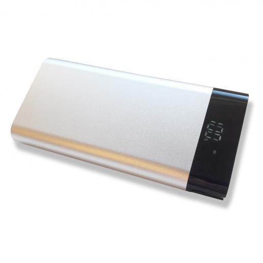 Павербанки - Зарядное устройство Power Bank, 17600 mAh, металл (11E242)