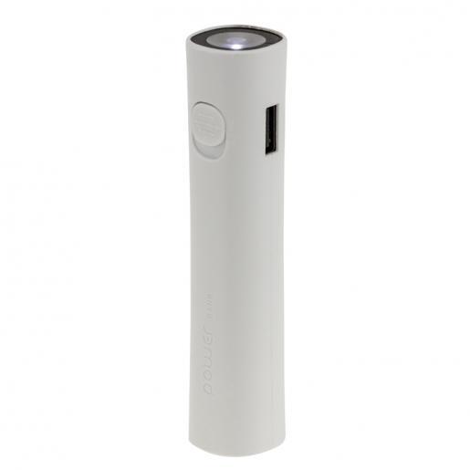 Фонарики - Зарядное устройство Power Bank с фонариком, 2600 mAh (022600)