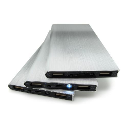 Павербанки - Зарядное устройство Power Bank, 8000 mAh, металл (11Е119)