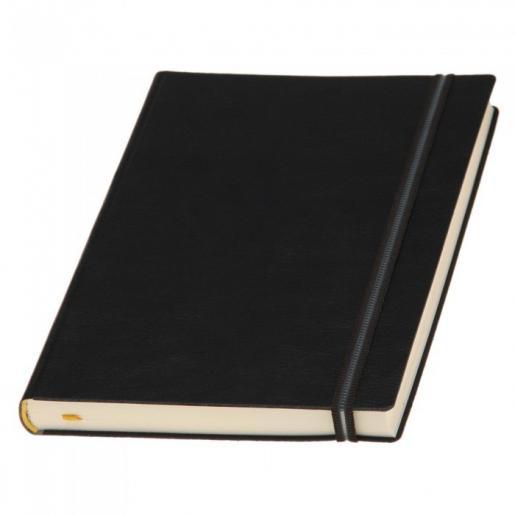Датированные ежедневники - Ежедневник Дакар Премиум Эластик, датированный А5, кремовый блок, линия, гибкая обложка (0183248388)