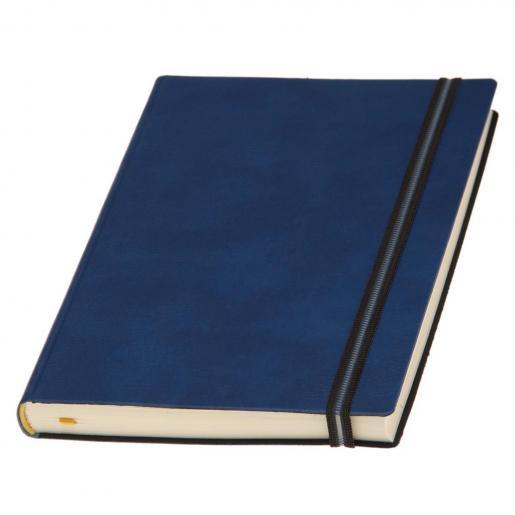 Недатированные ежедневники - Ежедневник Дакар Премиум Эластик, недатированный А5, кремовый блок, линия, гибкая обложка (0182058389)