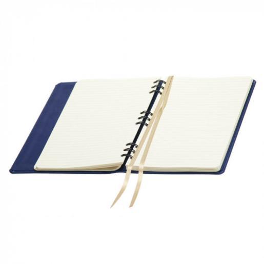Записные книжки - Записная книжка А5, на пружине, кр/бл, линия (0114825464)