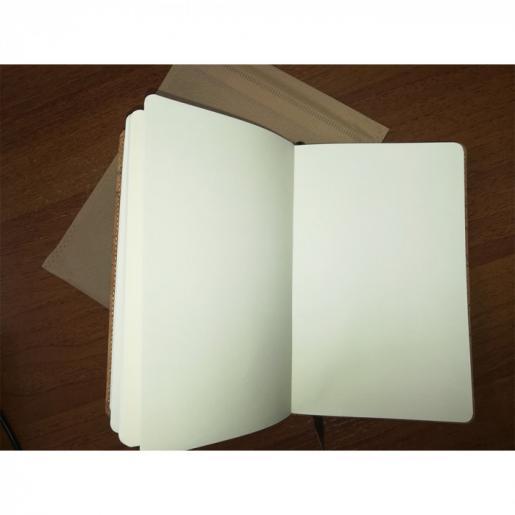 Записные книжки - Блокнот А5 на резинке, корк (0139348060)
