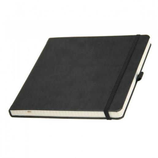 Записные книжки - Записная книжка квадратная, кр/бл, клетка (0114425464)
