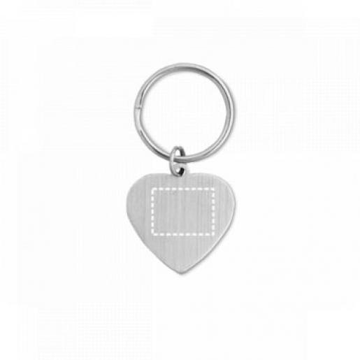 Брелоки - Брелок в форме сердца (93159FM)