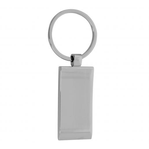 Брелоки - Брелок прямоугольный, металлический  (039101)
