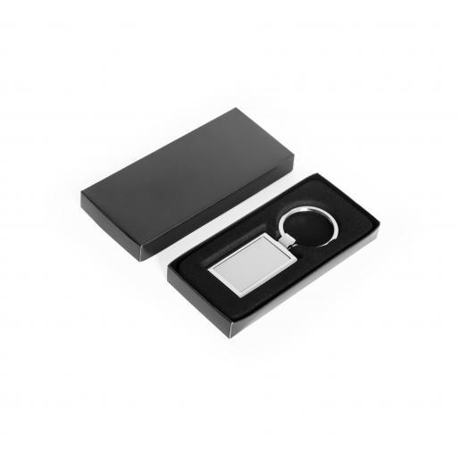 Брелоки - Брелок прямоугольный, металлический  (039104)