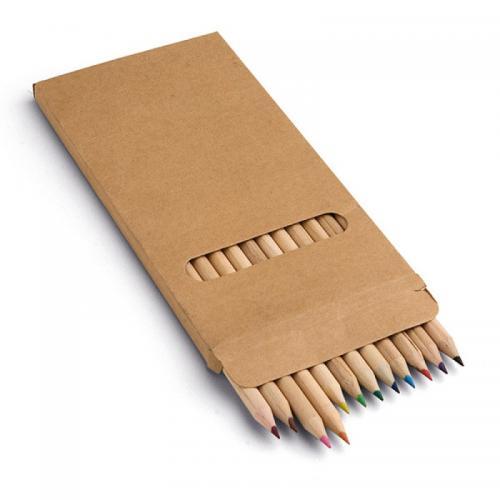 Карандаши - Набор карандашей цветных 12 шт (0091746)