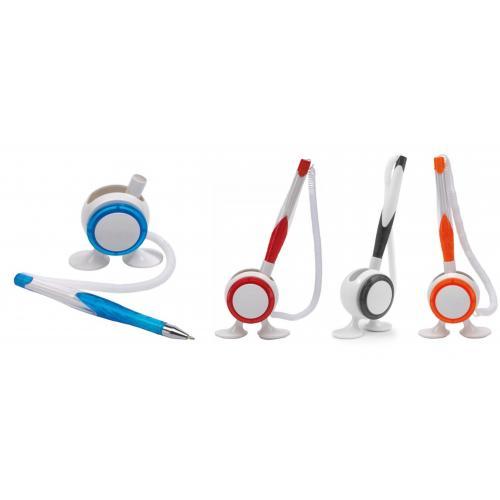 Многофункциональные ручки - Ручка пластиковая на подставке (0191101674)