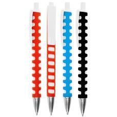 Ручки пластиковые - Авторучка пластиковая, с эффектом Soft Touch (022004)