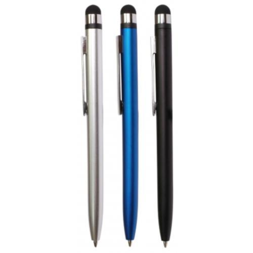 Ручки пластиковые - Ручка пластиковая со стилусом (09TVP-37A)