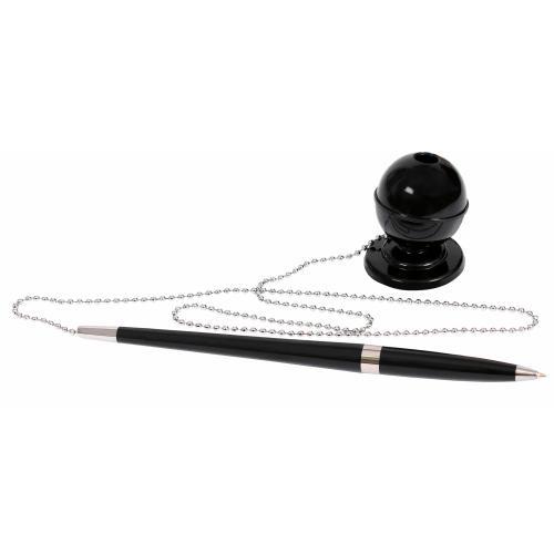 Многофункциональные ручки - Ручка шариковая на подставке (07E10128)