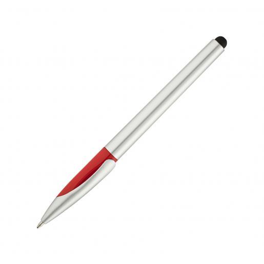Ручки пластиковые - Ручка шариковая со стилусом, пластиковая (031013)