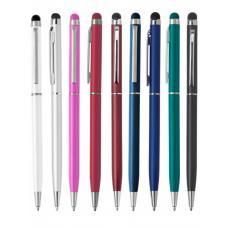 Ручки металлические - Ручка шариковая со стилусом (01953832)