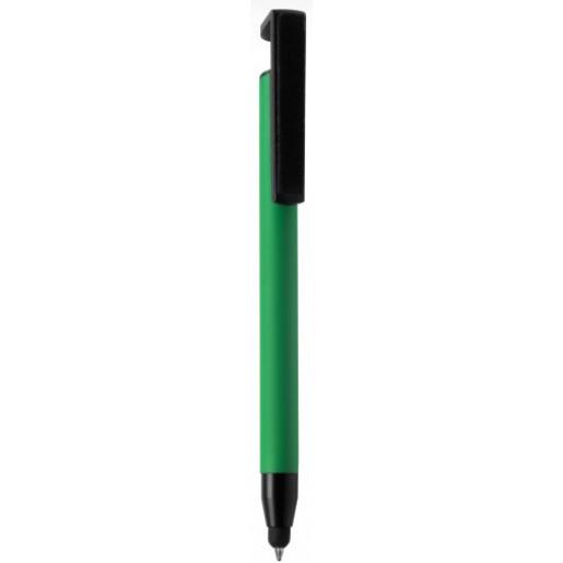 Ручки металлические - Авторучка металлическая со стилусом, с покрытием Soft-touch (04020171)