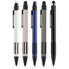 Многофункциональные ручки - Ручка шариковая со стилусом, металлическая (04020168)