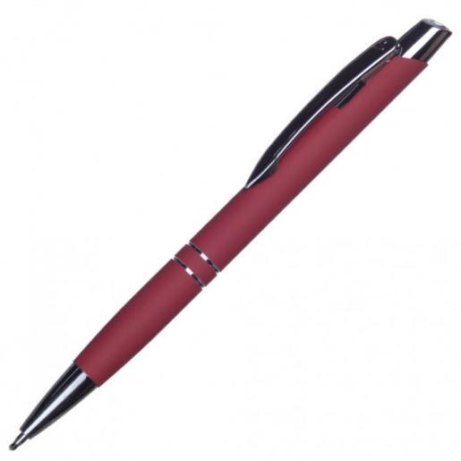 Ручки металлические - Авторучка металлическая с Soft Touch покрытием (01112576)