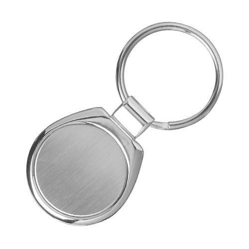 Брелоки - Брелок круглый, металлический  (0195867932)