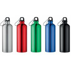 Аксессуары для путешествий - Бутылка для воды 750 мл с карабином, металл (06MO9350)