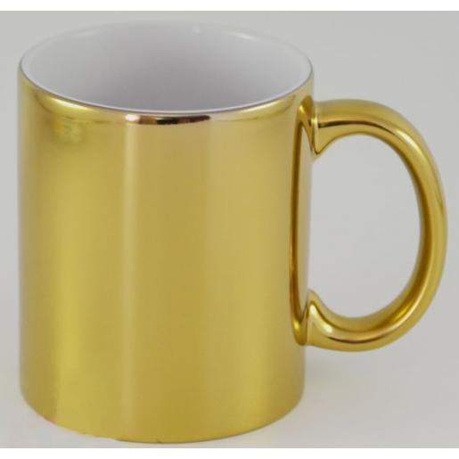 Под сублимацию - Чашка сублимационная, Хром, 330 мл (05М32)