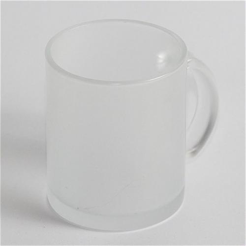Под сублимацию - Чашка сублимационная, белая, стекло, матовая внутри, 330 мл (052050)