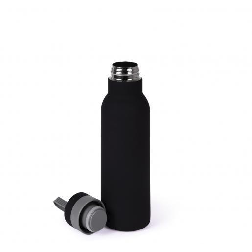 Аксессуары для путешествий - Термобутылка Soft-touch, металлическая, 480 мл (032611)
