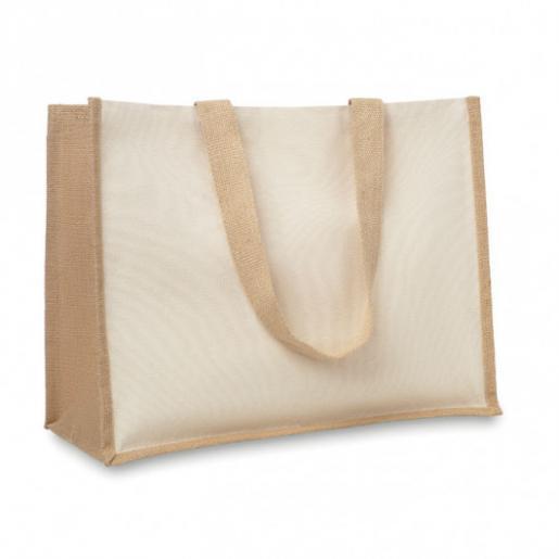 Сумки для покупок - Сумка для покупок, джут, 42х19х33 см (0650S80A1)