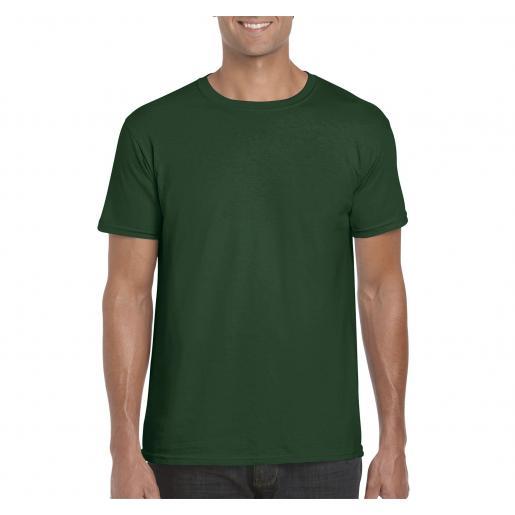 Футболки - Футболка мужская цветная (унисекс) (0364000)
