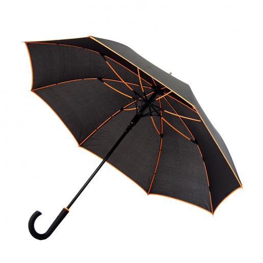 Зонты трости - Зонт-трость с цветными спицами и коймой (0271300)
