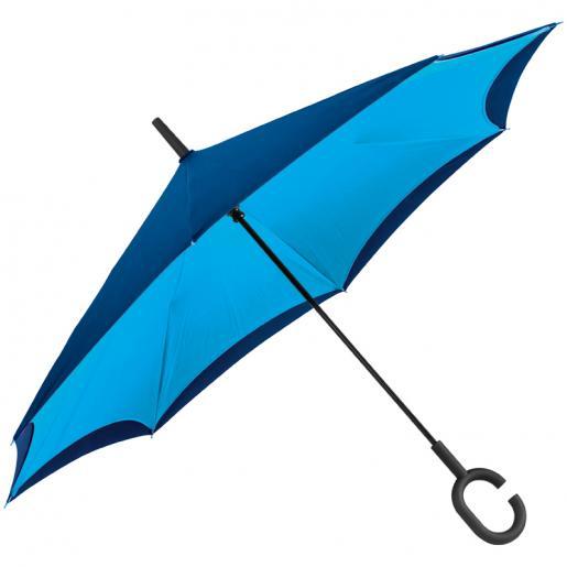 Зонты трости - Зонт-трость с обратным складыванием (0240476)